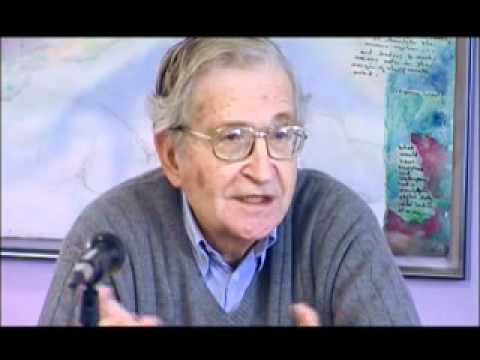 NOAM CHOMSKY.Canadian Press Conference, Nov 11, 2002