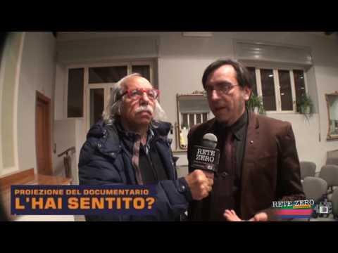 CRISTIAN DEL PINTO - SISMOLOGO - PROIEZIONE DEL DOCUMENTARIO