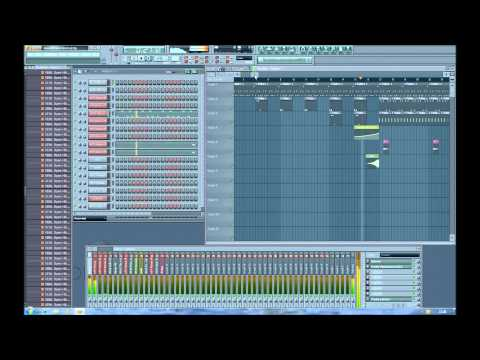 Swedish House Mafia - Leave The World Behind Crookeey Remix Fl Studio 9