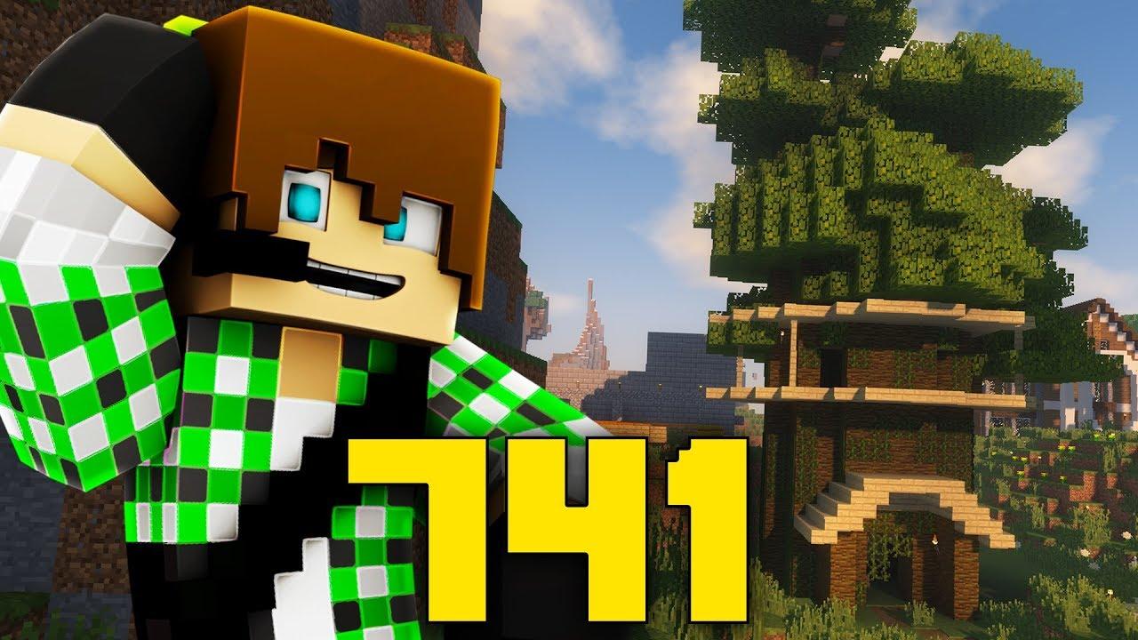 Minecraft ita 741 casa sull 39 albero youtube - Casa sull albero minecraft ...