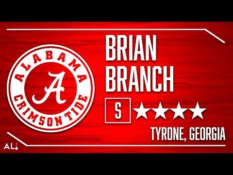 Alabama 2020 Signee: Brian Branch Highlights