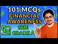 Financial Awareness for BANK EXAMS (101 MCQs SEBI Grade A 2020)