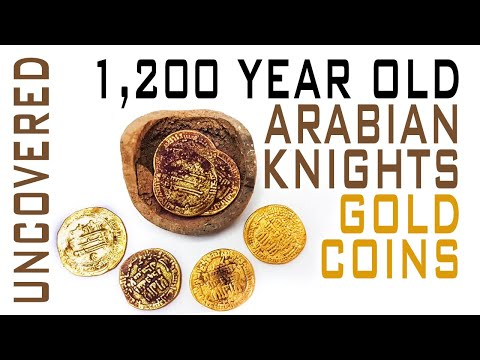 Jug Of 1,200 Year Old Gold Coins Uncovered In Israel!