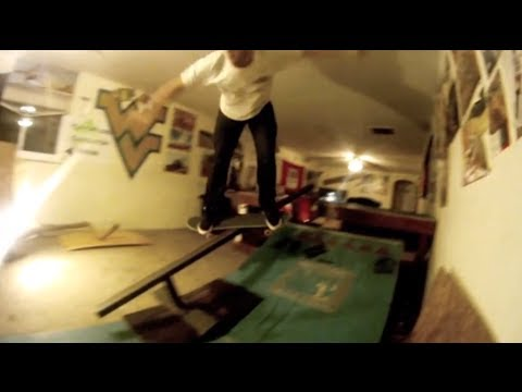 Living Room Half Pipe Session at WVU