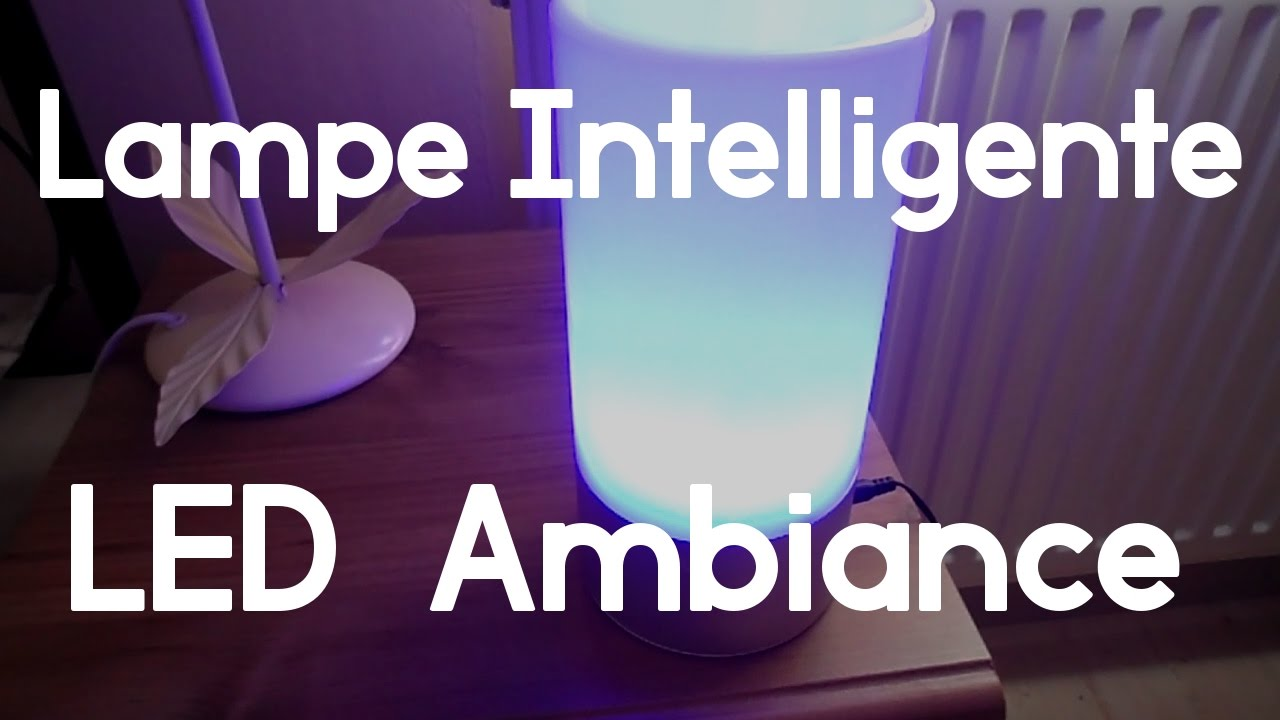 Lampe intelligente aukey led ambiance dballage test youtube lampe intelligente aukey led ambiance dballage test parisarafo Images