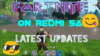 Fortnite on REDMI 5A finally.latest updates. How to download fortnite on REDMI 5A.