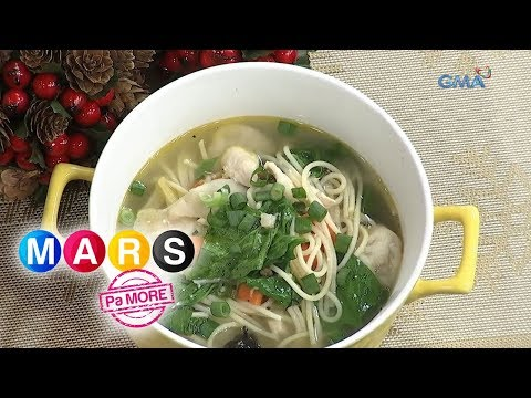 Mars Pa More: Asian Chicken Noodle Soup Recipe By Samantha Lopez | Mars Masarap