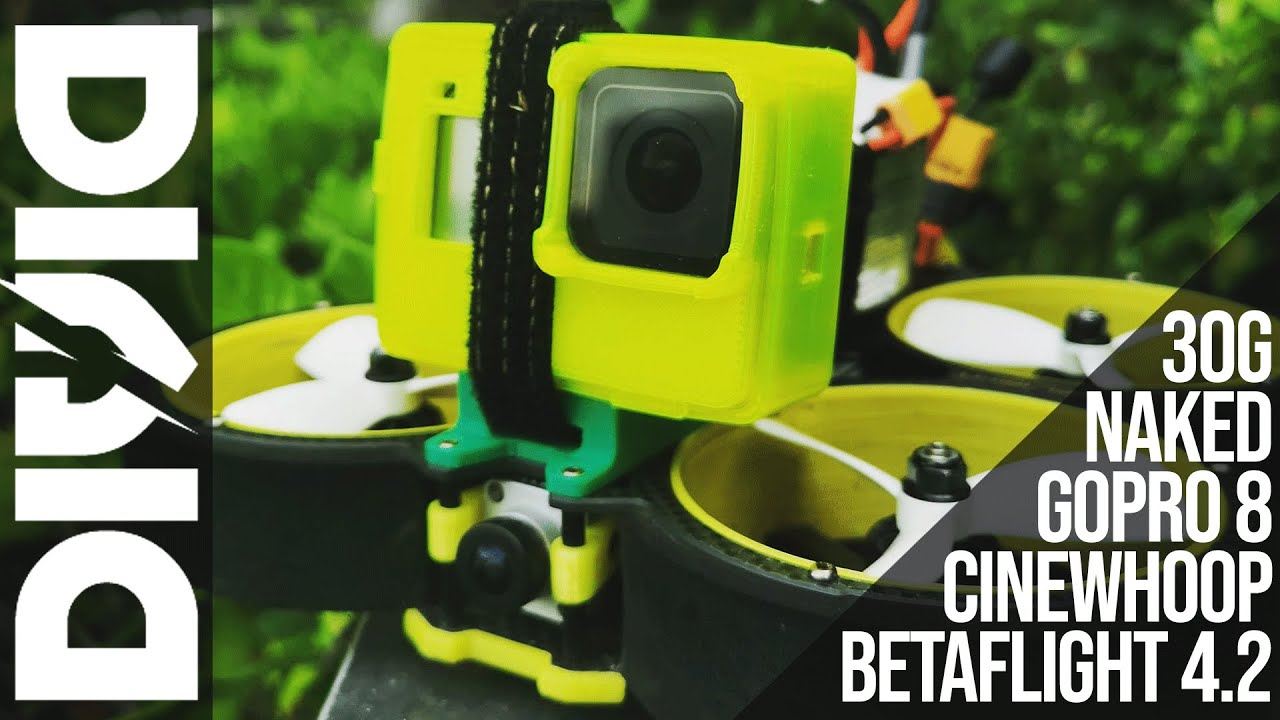 Naked GoPro removable screen - YouTube