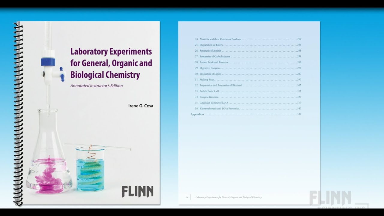 General, Organic and Biological Chemistry Lab Manual