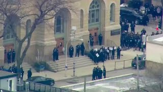 Funeral held for slain Chicago police officer