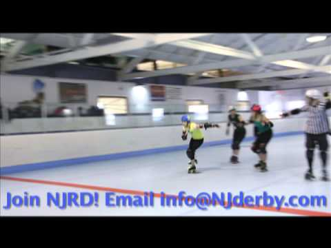 New Jersey Roller Derby Promotional Video