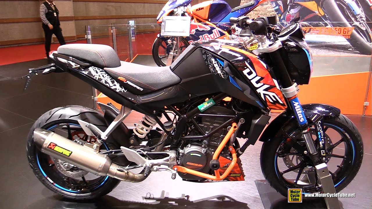 2016 ktm 125 duke walkaround 2015 salon moto paris youtube. Black Bedroom Furniture Sets. Home Design Ideas