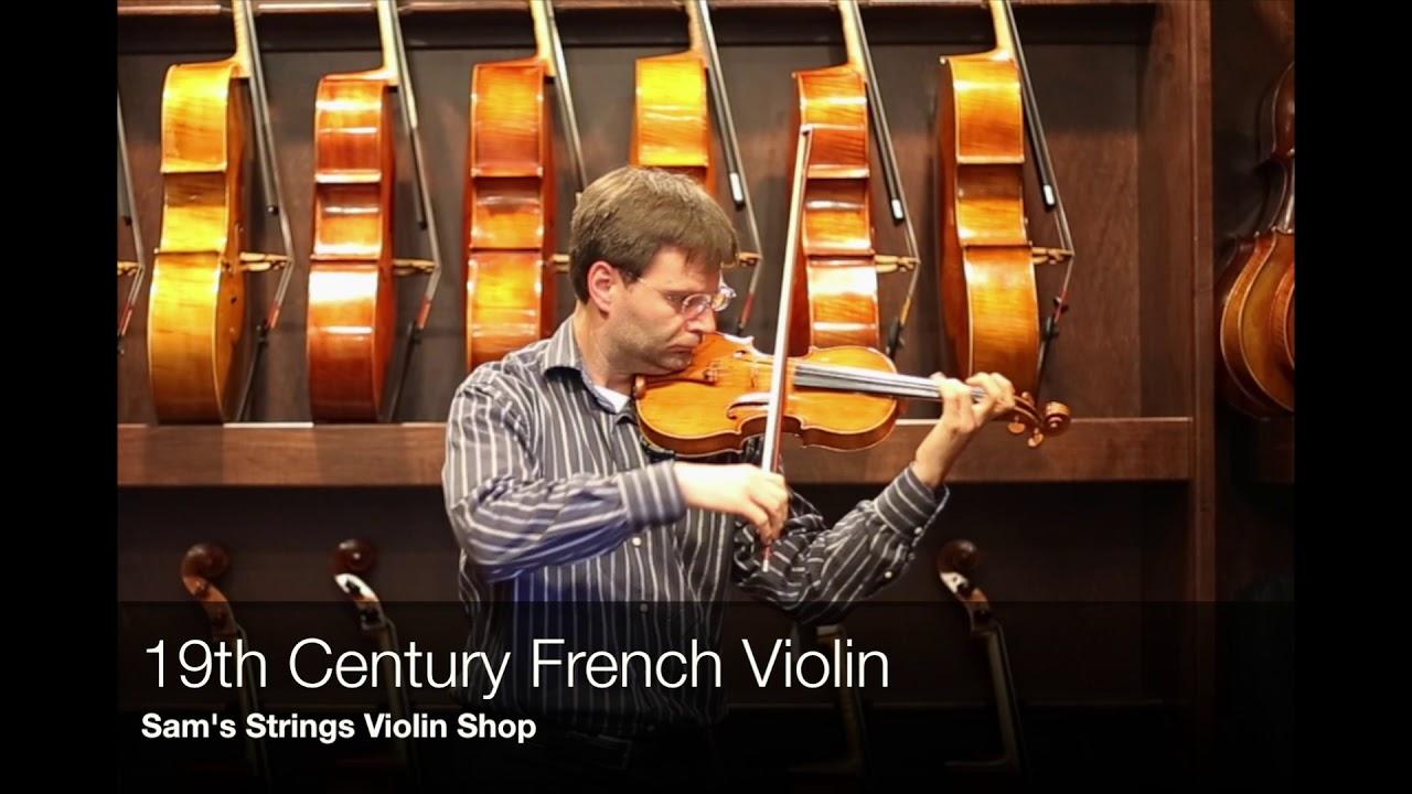 19th Century French Violin – Sam's Strings Violin Shop