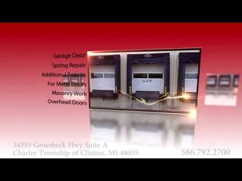 Garage Doors in Charter Township of Clinton | Andoor Distributors, Inc