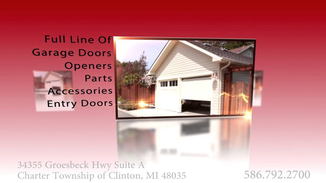 Overhead Door Company In Charter Township Of Clinton, MI