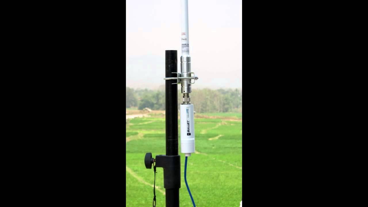 เสาอากาศ โอมนิ Omni Antennas 15 Dbi Youtube