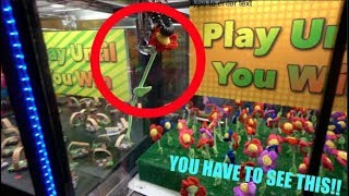 YOU HAVE NEVER SEEN A CLAW MACHINE LIKE THIS!!!