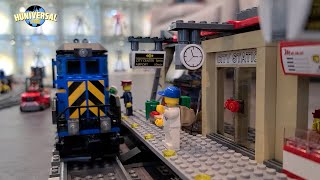 기차로 떠나는 레고시티 여행~!