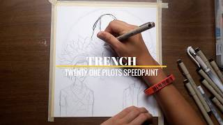 TRENCH (TWENTY ONE PILOTS SPEEDPAINT)