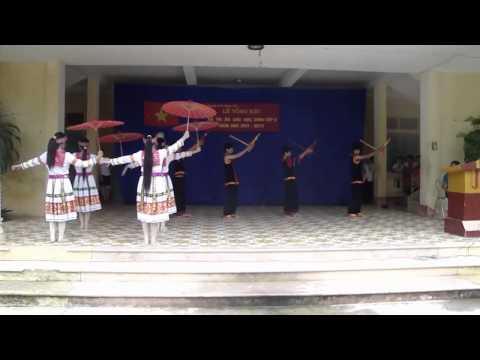 Múa xuân về trên bản Mông   Trường THCS Trung Yên