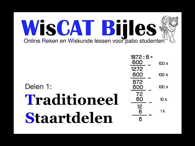 Staartdelen - WisCAT Werkboek: Delen 1