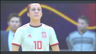 (China Spain) (FIFA 19 Women's World Cup France) EA SPORTS 2019
