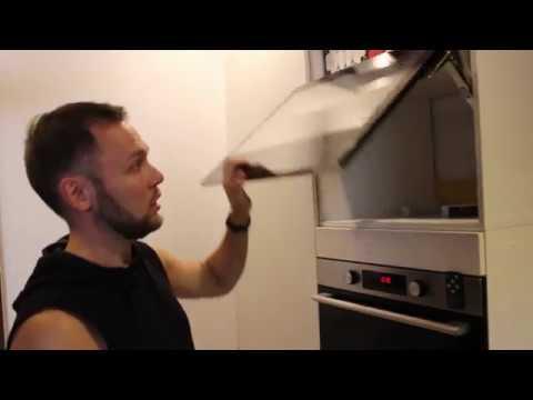 Самостоятельная установка телевизора для кухни AVS240K в шкаф. Установка телевизора вместо фасада.
