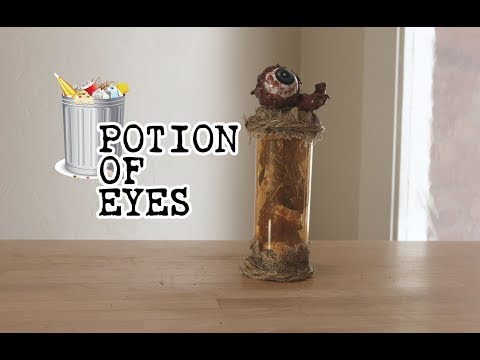 JUNKYARD HAUNTS - Potion of Eyes  - DIY