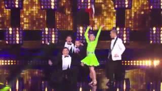 Ruby & Jonas Kids Dance and Boogie to Runaway Baby by Bruno Mars America