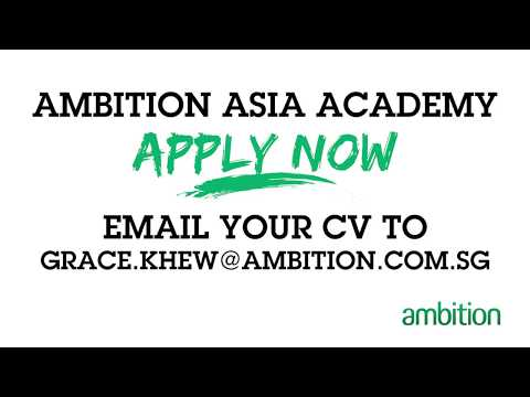 Ambition Asia Academy: Apply Now