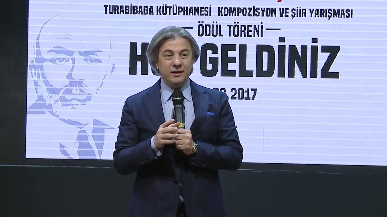 Ahmet Misbah Demircan - Turabibaba Kütüphanesi Kompozisyon ve Şiir Yarışması Ödül Töreni