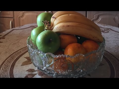 Советский хрусталь.Идеальная фруктовая ваза🌺