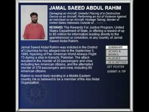 FBI Wanted 2012 - JAMAL SAEED ABDUL RAHIM ($5.000.000 Reward)