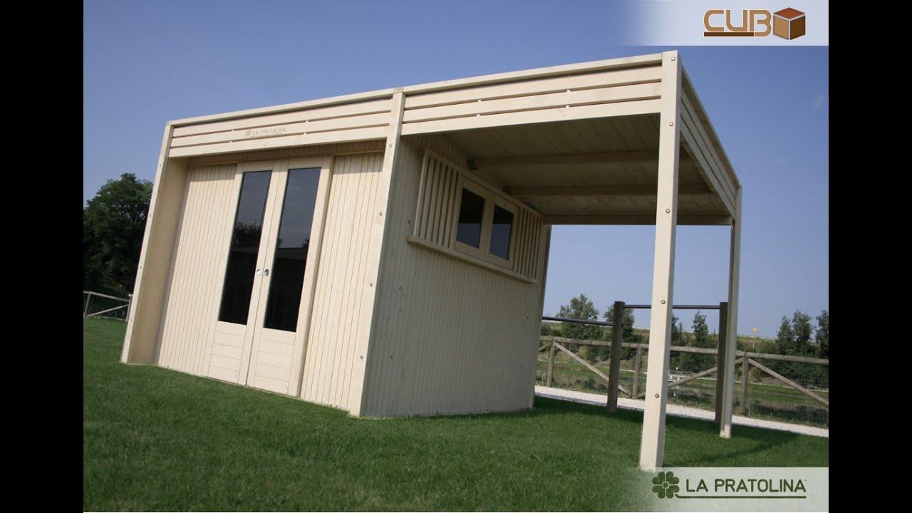 Montaggio dal vivo casetta in legno cubo youtube for Casetta in legno con portico