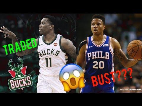 NBA TRADE NEWS: ERIC BLEDSOE TRADED TO MILWAUKEE BUCKS, MARKELLE FULTZ IS THE NEXT NBA DRAFT BUST?!
