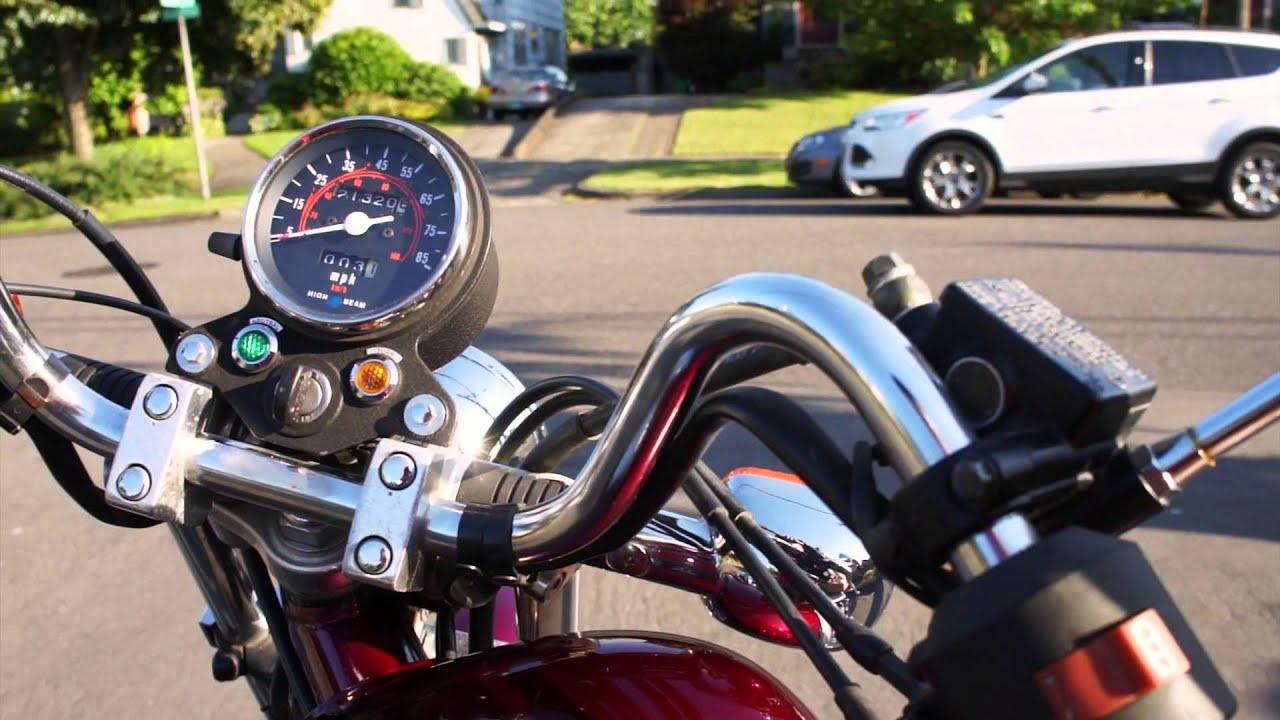 Marvelous 1987 Honda Rebel 250 Cold Start