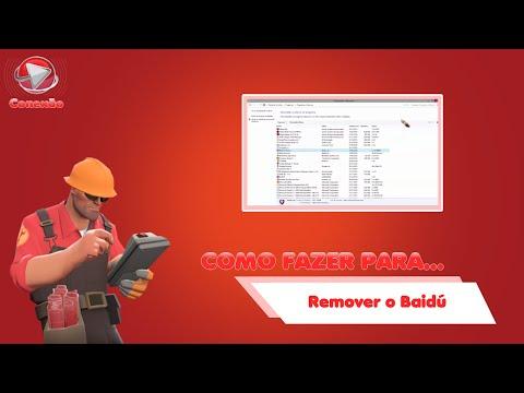 Como Fazer para... Remover o Baidu?