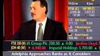 Frank Furness on Bloonberg TV