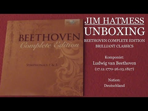 Beethoven Edition (Brilliant Classics) Unboxing Deutsch/German