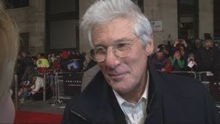 Richard Gere talks Arbitrage: Richard Gere jokes with reporter and talks about new film Arbitrage