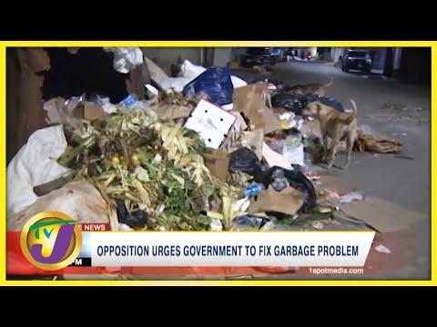 Opposition Urges Gov't to Fix Garbage Problem   TVJ News - Oct 2 2021