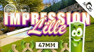 Vidéo: Gazon synthétique Impression / Lille 47mm à 26€TTC/M² livré