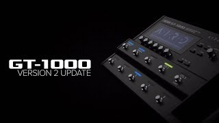 BOSS GT-1000 Version.2 Preset Sound Examples (No Talking)