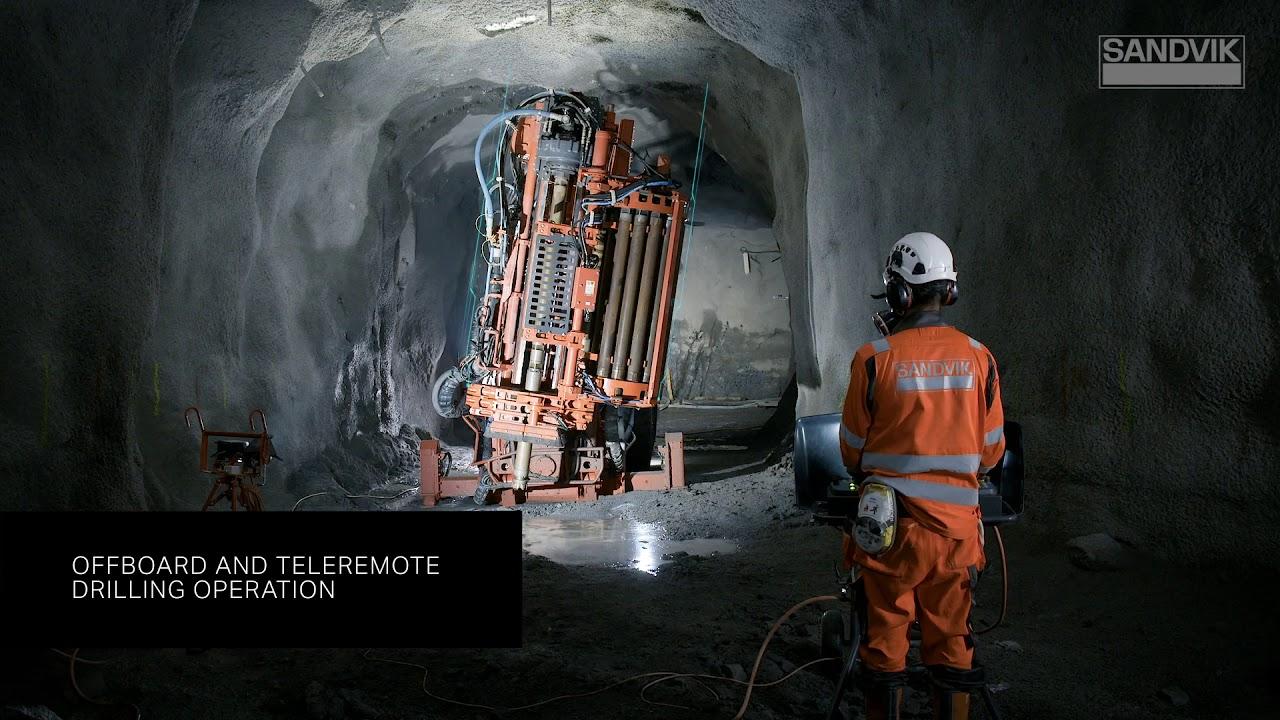 Sandvik DU412i Longhole Drill Release The Power Of Intelligence | Sandvik Mining and Rock Technology