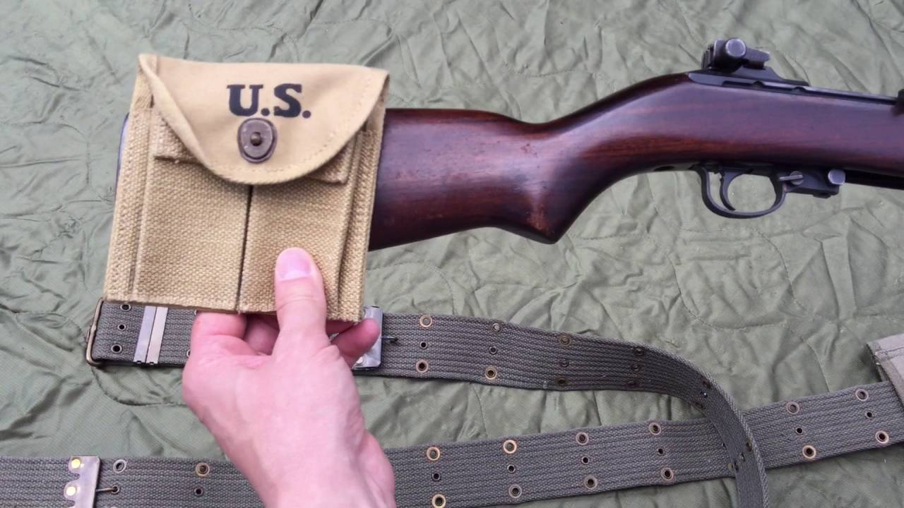 M1 Carbine Buttstock Pouch Installation Youtube