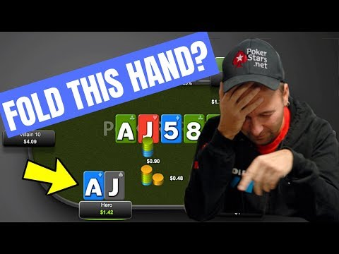 CRAZY Online Poker Hand Low Stakes (Could You Fold This?)