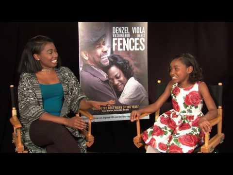 SANIYYA SIDNEY Interview for FENCES film