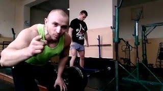 Копылов Дмитрий. Тяга 403 кг. Рекорд зала