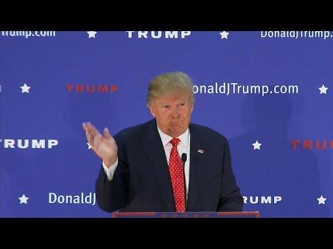Donald Trump bashes New Hampshire newspaper