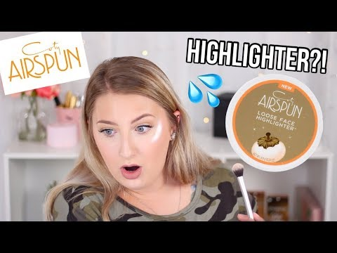 NEW Coty Airspun HIGHLIGHTER! | Bryanna Figueiredo